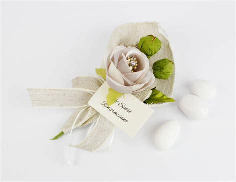 segnaposto fiori segnaposto calla con fiore e bigliettino matrimonio di