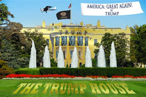how many houses does donald how would donald put his st on the white house