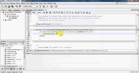 jcheckbox exle in java swing java swing tutorial 03 jpasswordfield jcheckbox usage