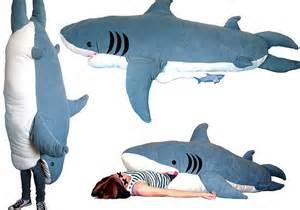 giant shark plush big shark sleeping bag soft cushion mattress novelty home