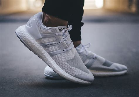 adidas y 3 pureboost adidas y 3 boost white by8955 sneakernews