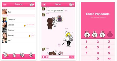 themes line new japanese mobile messaging service line updated its ios app