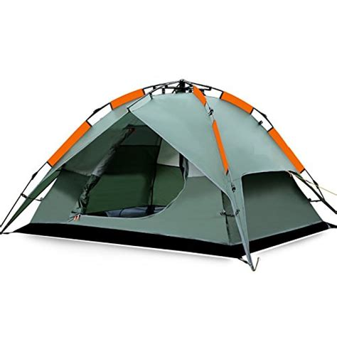 tent bathtub floor fivejoy 174 instant 3 person 3 season dome tent double wall