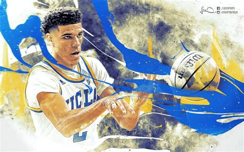 Ucla Background Check Lonzo Ucla Wallpaper By Skythlee On Deviantart
