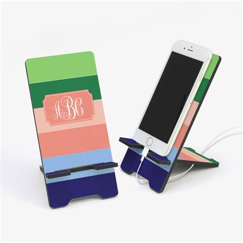 desk accessories personalized cell phone stand buy now
