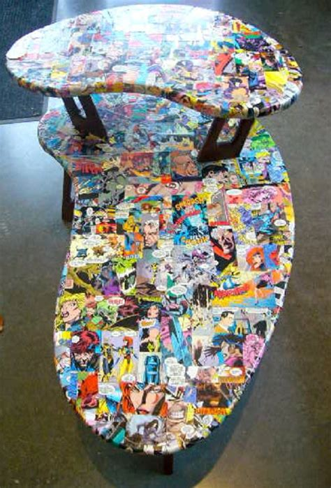 Comic Decoupage Paper - 11 dreamy home furnishings for a book lover amreading