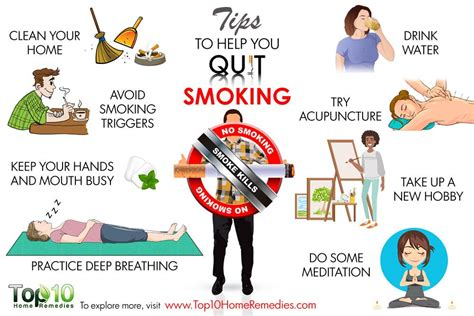 Best Ways To Detox From Nicotine by 10 Tips To Help You Quit Top 10 Home Remedies