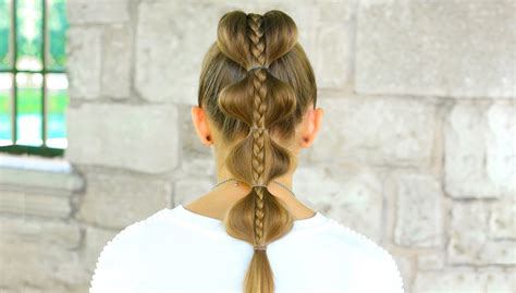 andreaschoice back to school hairstyles stacked bubble braid back to school hairstyles makeup