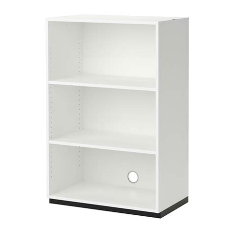 galant shelf unit white