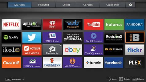 visio apps 16 best smart tvs of 2015 digital trends