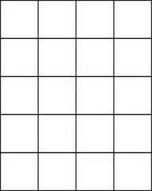 Square Template by Small Squares For Pattern Block Set Clipart Etc