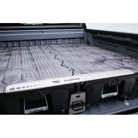 truck bed drawers silverado decked truck bed tool boxes black for gm silverado sierra