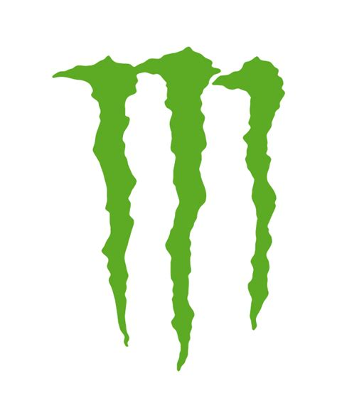 Monsters Logo 1 pegatina energy logo adhesivosnatos