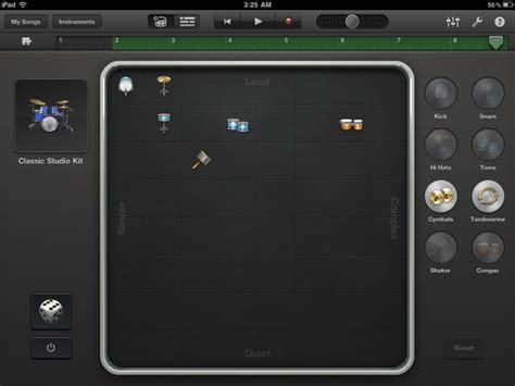 drum pattern for garageband ars reviews garageband for ipad a killer app for budding