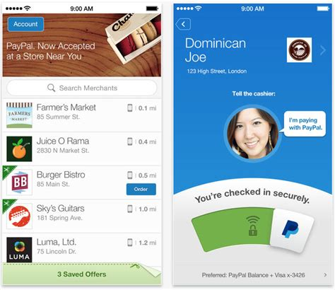 Link Gift Card To Paypal - paypal updated with loyalty card support faster logins and more