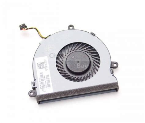 hp laptop cooling fan genuine hp 15 ac 15 af series cpu cooling fan 813946 001
