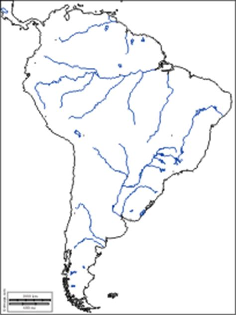 map of south america river s 252 damerika kostenlose karten kostenlose stumme karten