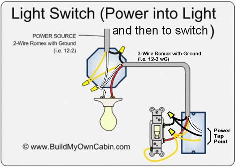 switch to light contemporary electrical circuit
