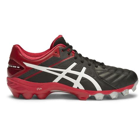 Asics Football Gear asics gel lethal ultimate igs 12 mens football boots black white racing sportitude