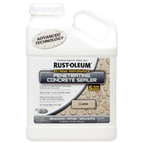 rust oleum 1 gal penetrating concrete sealer of 2