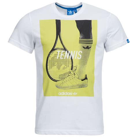 T Shirt Tennis adidas originals graphic tennis t shirt herren freizeit