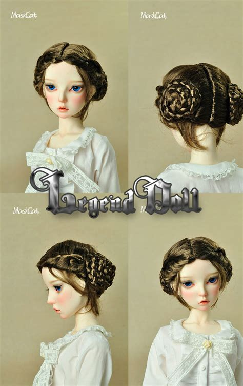 8 inch jointed doll bjd wig for mssmwd 8 9 inch jointed doll sd 8 9in