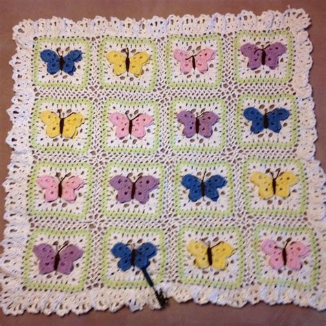 butterfly baby blanket knitting pattern butterfly kisses baby blanket pattern by e