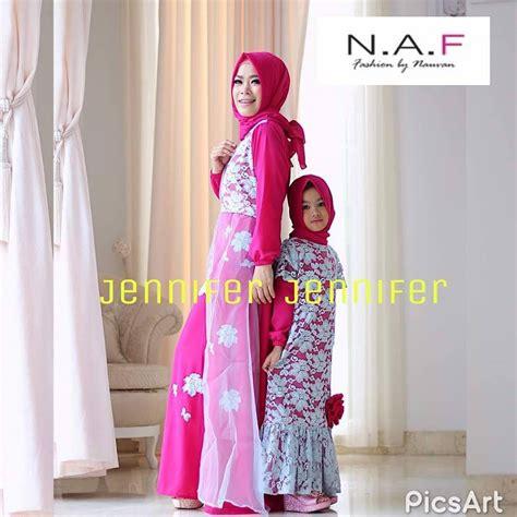 Jual Baju Muslim jual baju muslim brokat cantik by naf