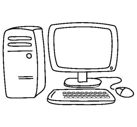 dibujos de navidad para colorear en la computadora dibujo de ordenador 3 para colorear dibujos net