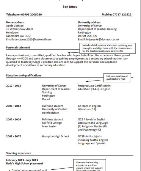 format cv untuk guru contoh format cv curriculum vitae bahasa inggris terbaru