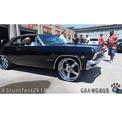 1965 Impala SS Vert On 24 Forgiatos  Stuntfest 2k15