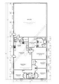 4 bedroom pole barn house plans barndominium floor plans pole barn house plans and metal barndominium floor plans 3