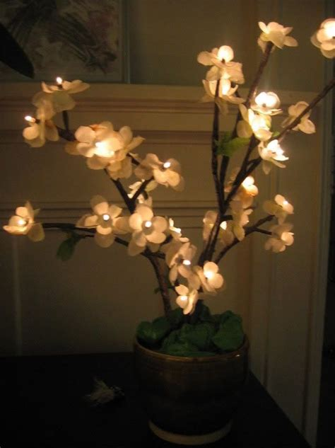 diy cherry blossom tree light crafty mccrafter pinterest