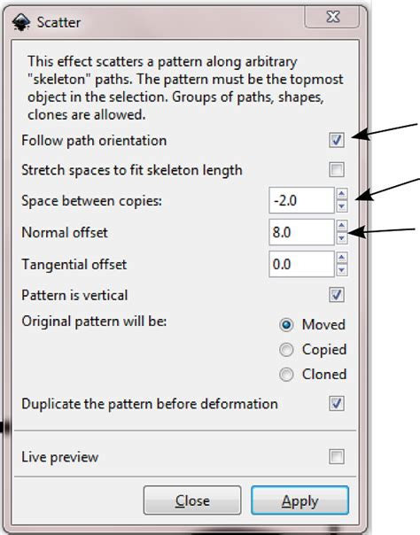 inkscape extension tutorial create faux stitching inkscape extension tutorial eye