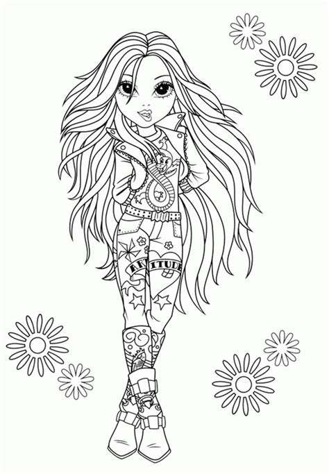 moxie girlz coloring pages moxie girlz coloring pages az coloring pages