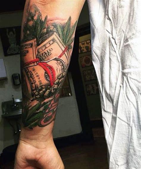 purse tattoo design 50 money tattoos for wealth of masculine design