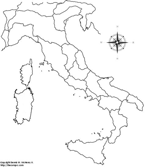 Blank Map Of Ancient Italy by Blank Map Italy Colouring Pages