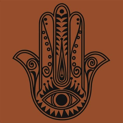 hamsa hand tattoo designs free images at clker vector clip