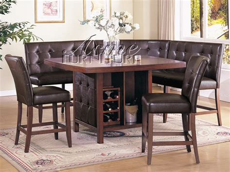 Dining Room Sets With Bench Seating Bedroomdiscounters Counter Height Dining