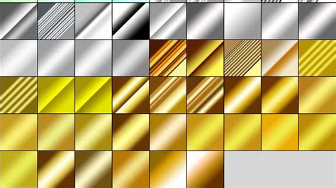gold pattern photoshop free download 890 free metal gradients for photshop