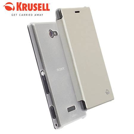 Flipcover Ume Sony Experia M2 krusell boden sony xperia m2 flipcover white