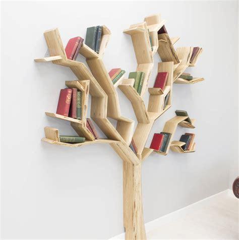 Tribesigns 9 Shelf Tree Book Handmade Bookshelf Oak Tree By Bespoak