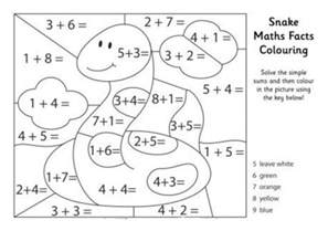 math coloring 19 free addition color by number collections gianfreda net