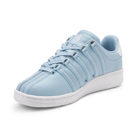 womens k swiss classic vn athletic shoe blue 376024