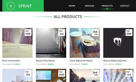 free html product page template sprint free html5 template creative beacon