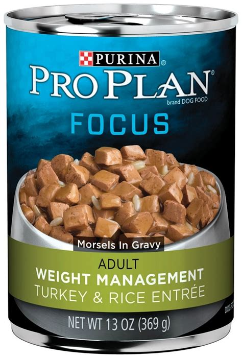 weight management food for dogs purina pro plan focus weight management turkey and
