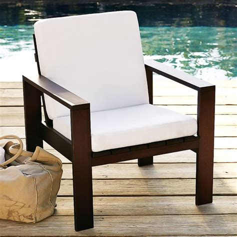 Outdoor Armchair Cushions by Outdoor Armchair Cushions West Elm