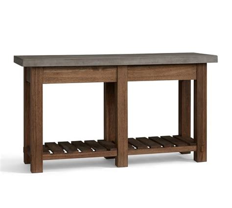 barn console table abbott console table pottery barn