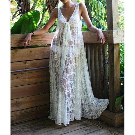 white lace boho maxi dress 7xlplus size women white lace vestido boho gypsy vintage