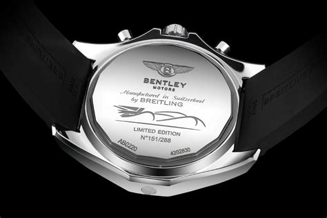 breitling bentley back breitling for bentley 24 hour limited back marvel
